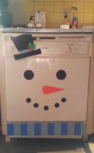 Same method as the fridge. I love his little top hat :]