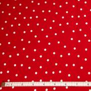 Red w/ White Dots