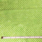 Green w/ White Dots