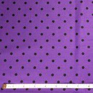 Purple w/ Black Dots