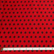 Red w/ Black Dots