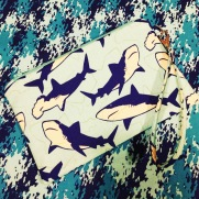 Shark Wristlet